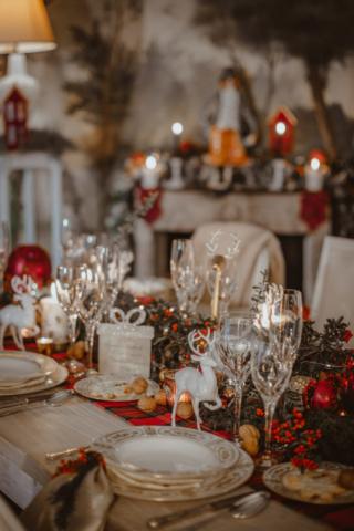 tavola natalizia