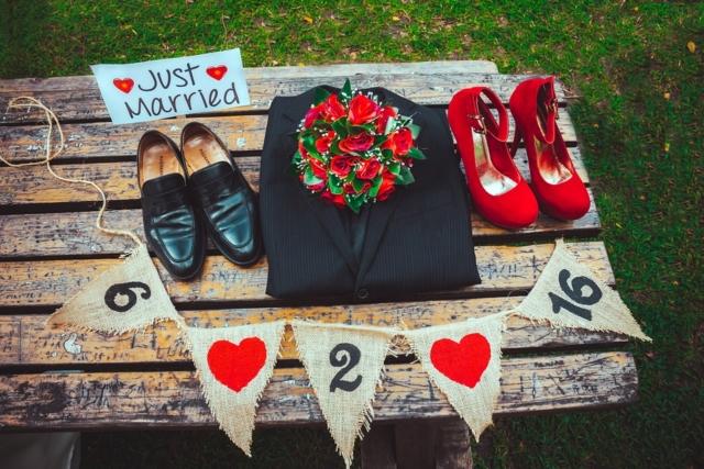 set degli sposi