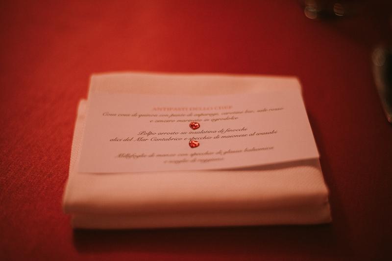 Il nostro menù personalizzato
