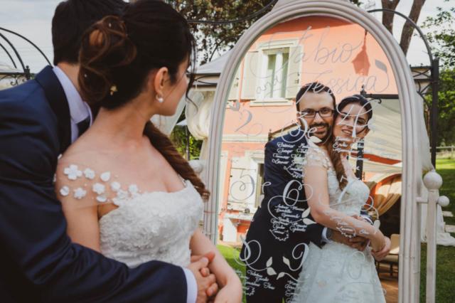 il nostro tableau de mariage