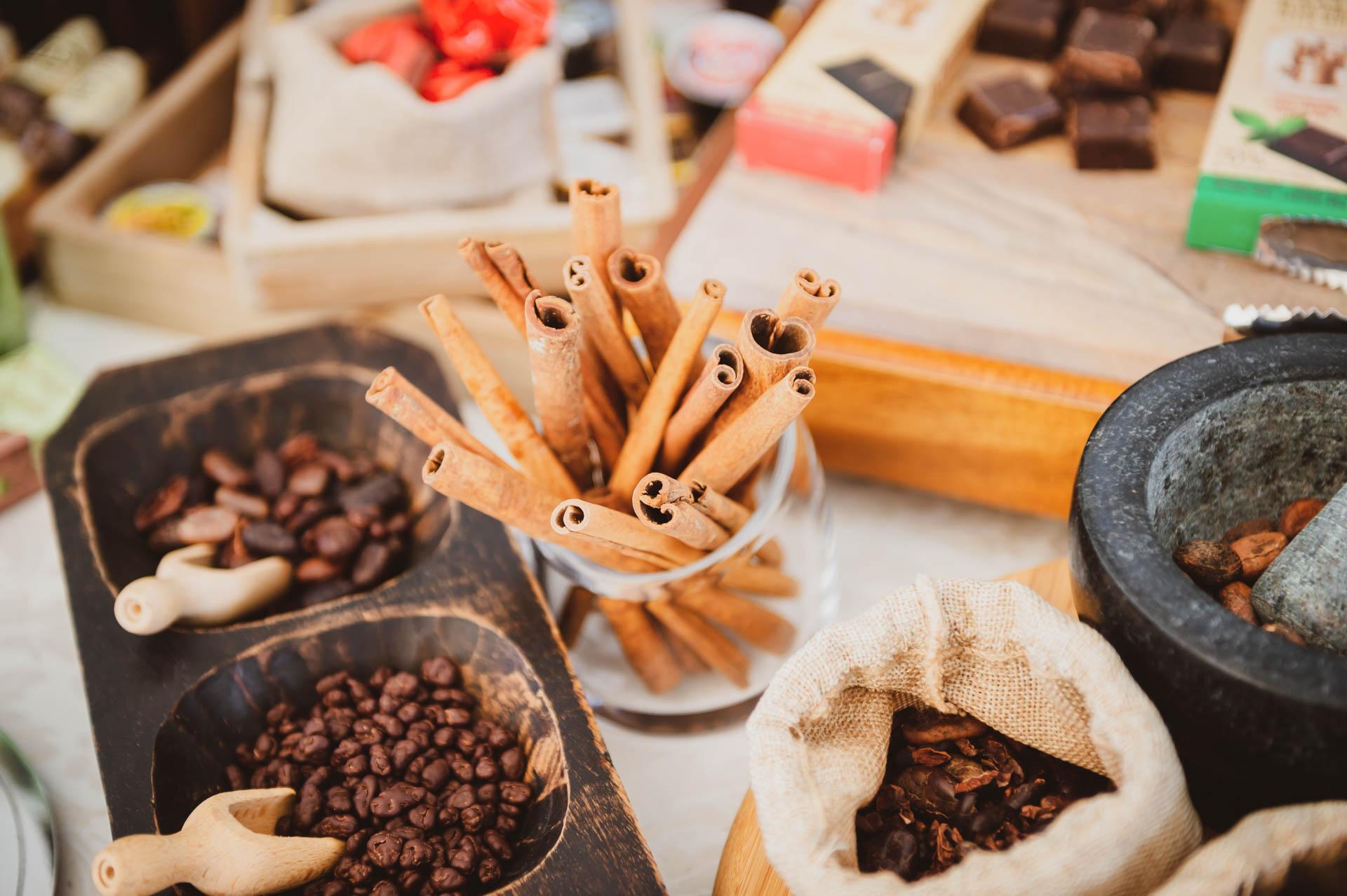 Caffè, cannella…. le nostre spezie