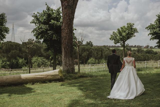passeggiata degli sposi