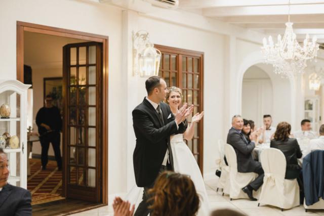 l'entrata in sala degli sposi