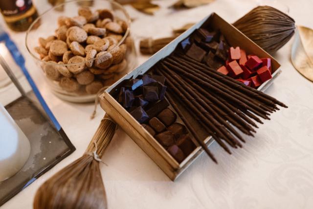 cioccolata e amaretti
