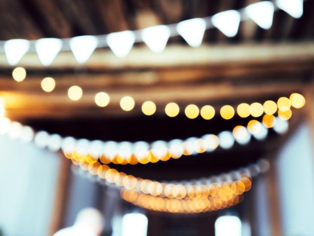 catenarie di luci