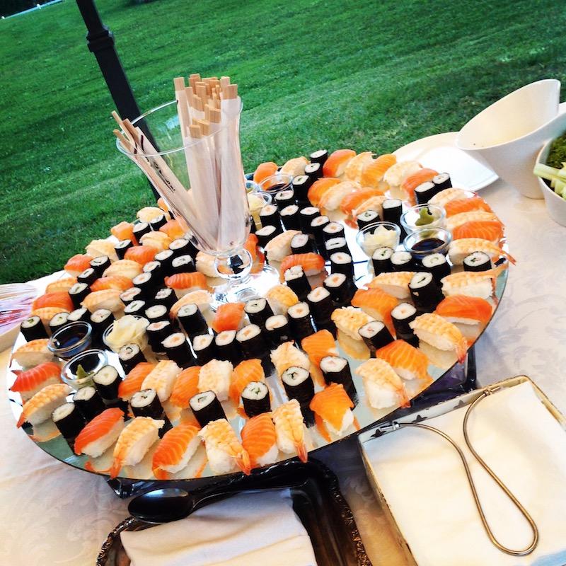 il sushi è servito