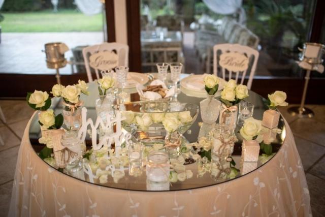 il tavolo degli Sposi rustic chic